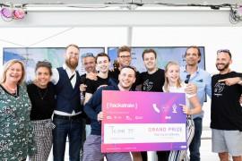Slimme 5G-oplossing wint Hackatrain 2019