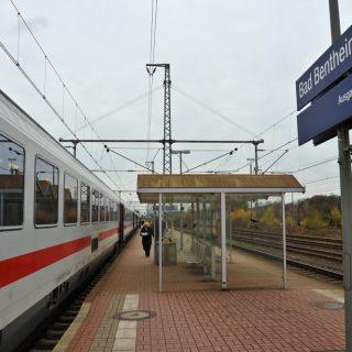 Passagierstrein op Bentheimer Eisenbahn