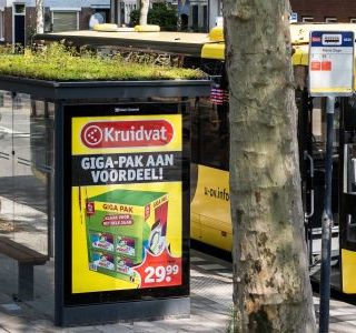 Utrechtse bushokjes hebben een plantendak