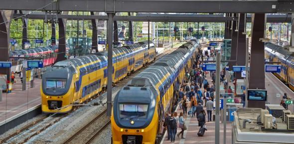 NS: Het spoor is over acht jaar vol