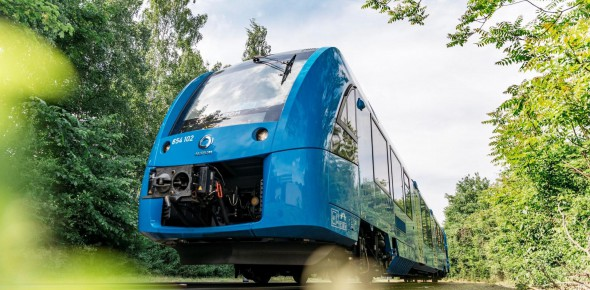 Pilot waterstoftrein begin 2020 onzeker