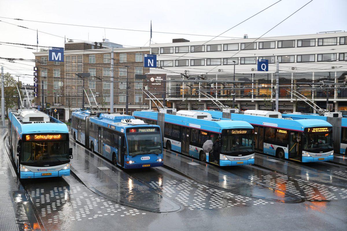 Op bezoek in Trolleystad Arnhem