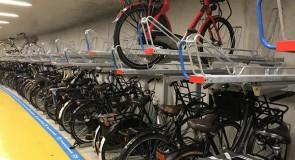 ProRail en NS testen afwijkend fietsenrek