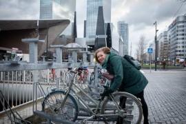 Rotterdam biedt meer ruimte aan fiets