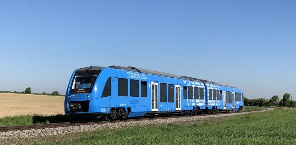 Noord-Nederland test waterstoftrein