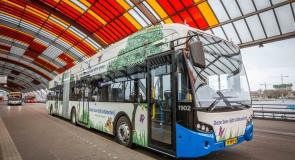 Maximaal 208 nieuwe e-bussen voor GVB