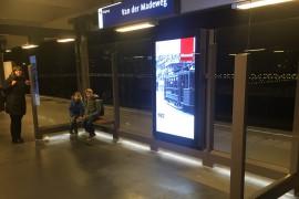 Frisse uitstraling 131 metrohaltes van GVB