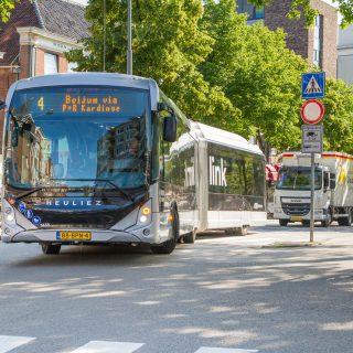In 2021 minder bussen in Groningen Drenthe