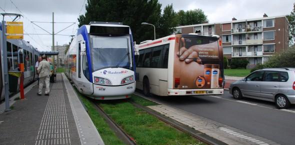 BRT centraal tijdens Dag van de Light Rail