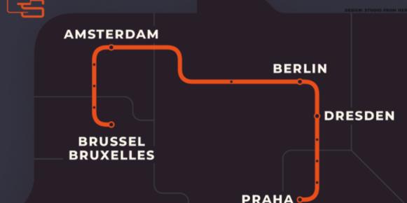 Nieuwe nachttrein A'dam – Praag op komst