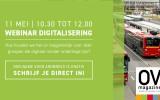 Meld u aan voor de webinar Digitalisering