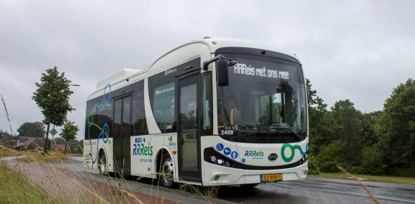 Keolis rijdt 13 nieuwe e-bussen IJssel-Vecht