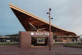 Station Assen in race voor architectuuraward